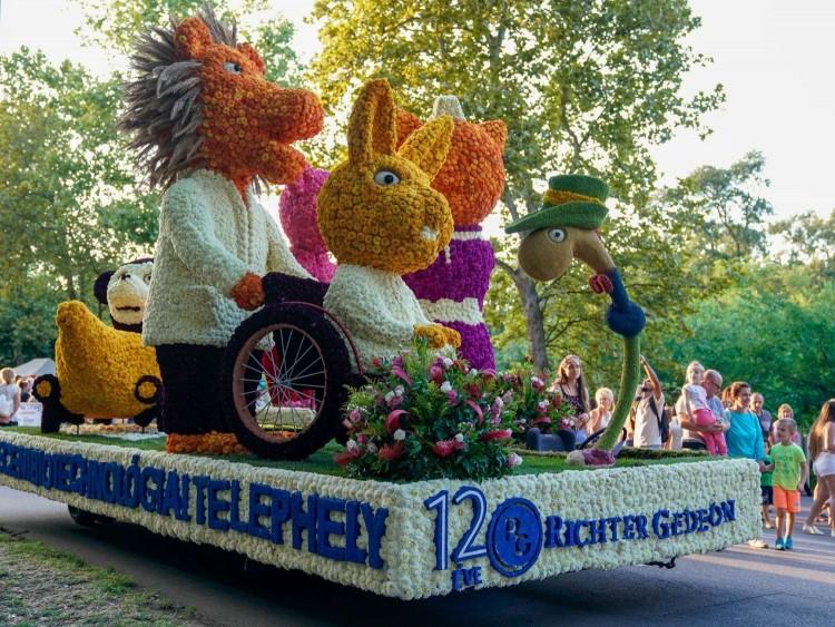 Debreceni Virágkarnevál: íme, a virágkocsik!