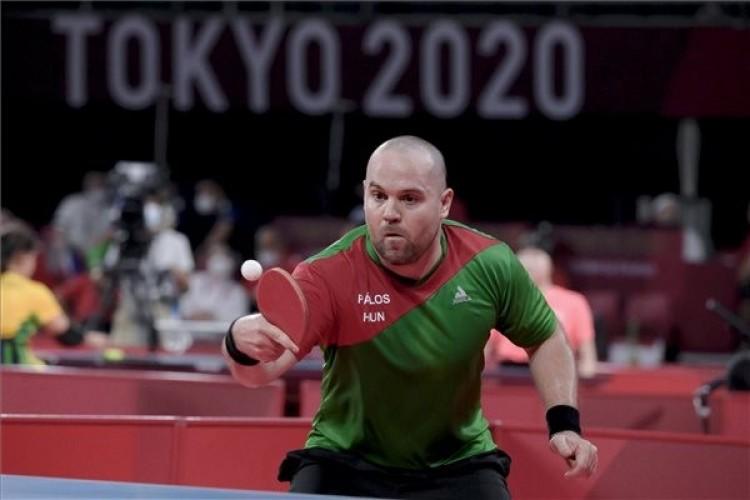 Paralimpia 2020: Pálos Péter asztaliteniszben szerzett aranyérmet