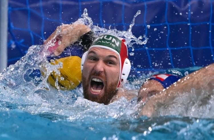 Horvátveréssel olimpiai elődöntőben a magyar férfi pólósok