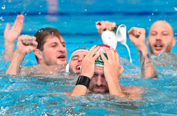 A férfi pólósok is bronzérmesek