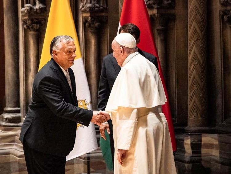 Orbán Viktor kérése a pápától