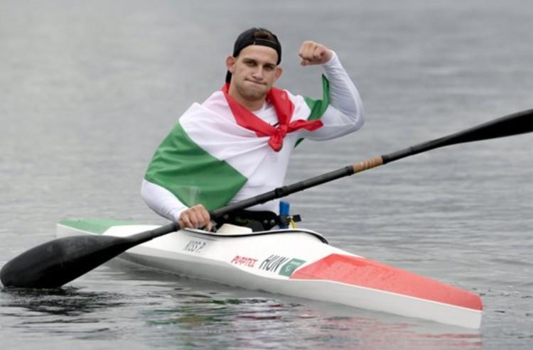 Paralimpia: aranyérmes a kajakos Kiss Péter Pál