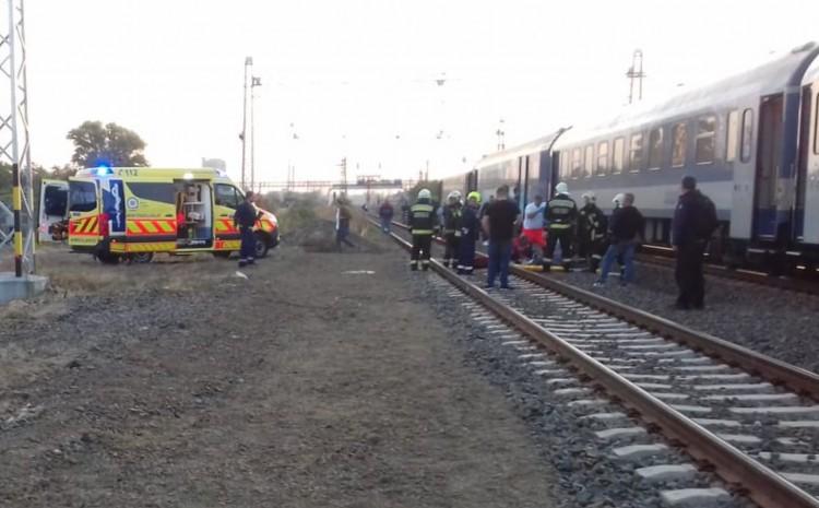 Elgázolt egy nőt a vonat Debrecenben
