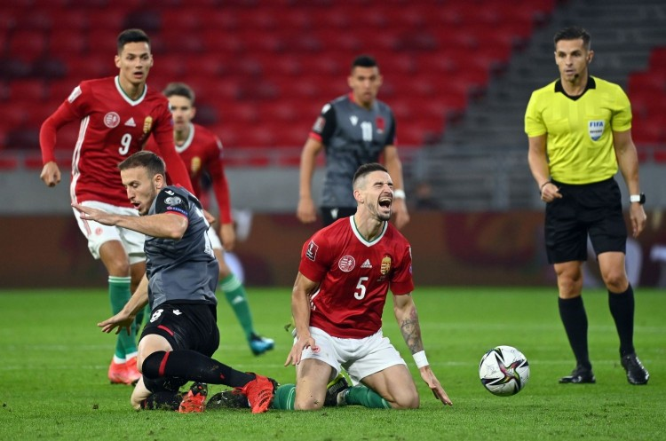 Budapesten is nyertek az albánok
