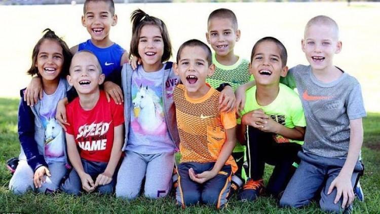 Nagyot nőtt ez a nyolc gyerek