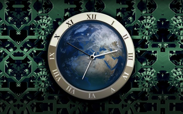 Már ketyeg a Föld Órája