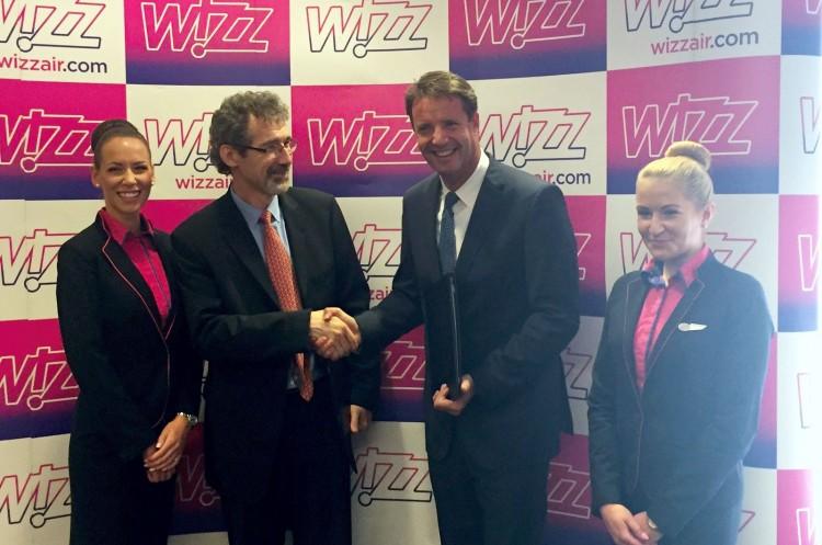 Repülhetnek. Nyíregyháza megállapodott a Wizz Airrel