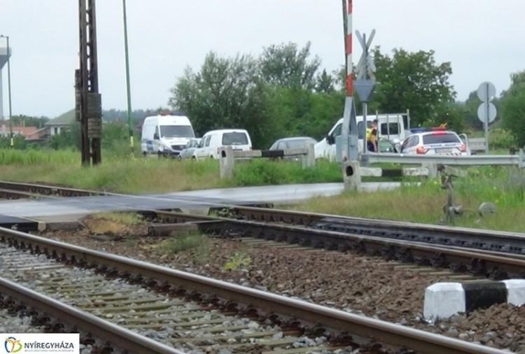 Halálos vonatgázolás Kemecsénél