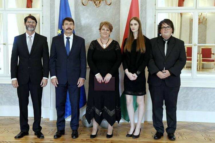 Áder kinevezte a Nyíregyházi Egyetem rektorát