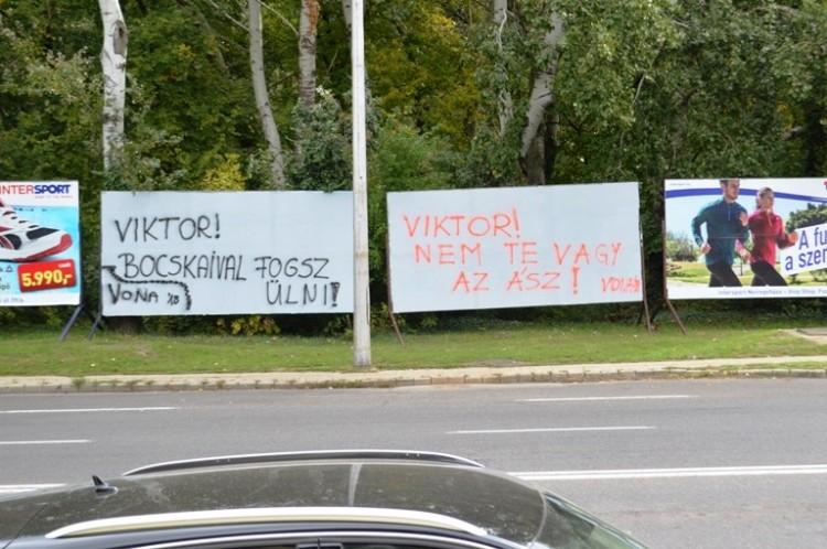 Megint üzentek Orbánnak Nyíregyházáról