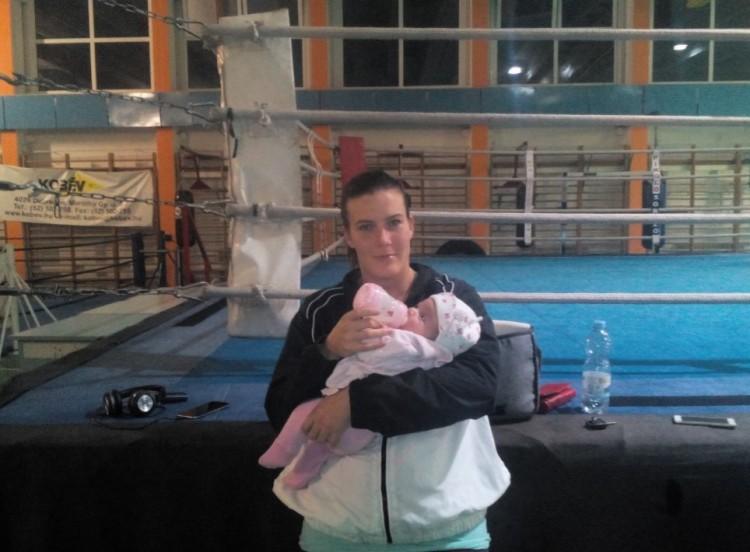 Hat héttel a szülés után magyar bajnoki címre tör a debreceni amazon