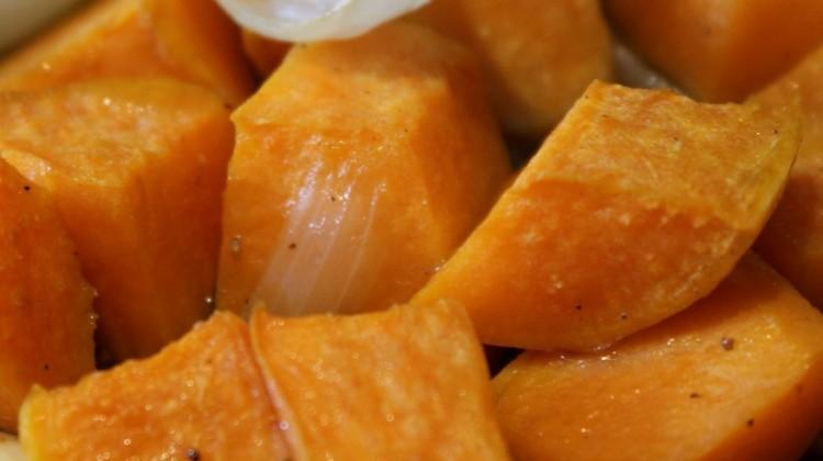 Recept: batáta sütve, finom fűszerekkel