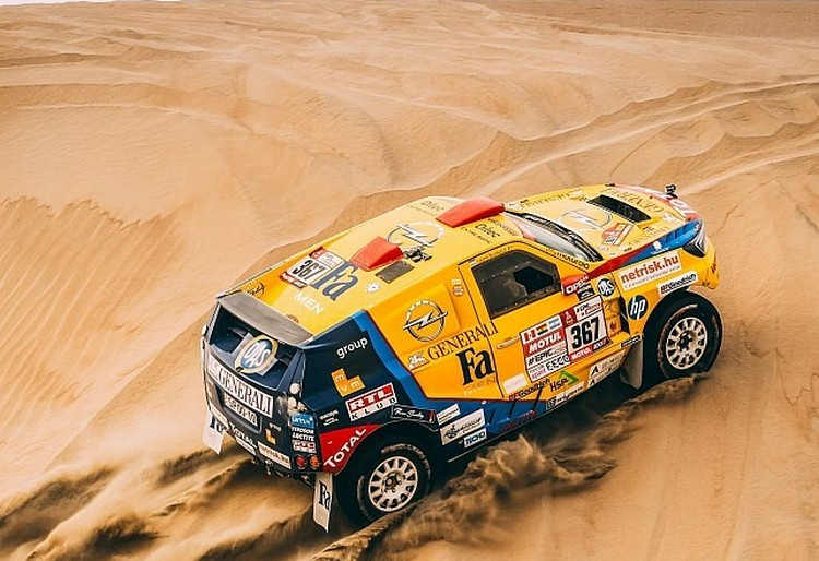 Eddig tartott a magyaroknak a Dakar