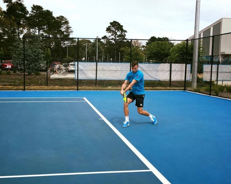 Nyolcaddöntőben a kiváló teniszező!