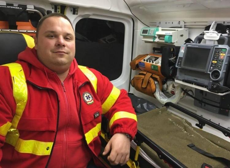 Nyíregyházi a hét mentőápolója