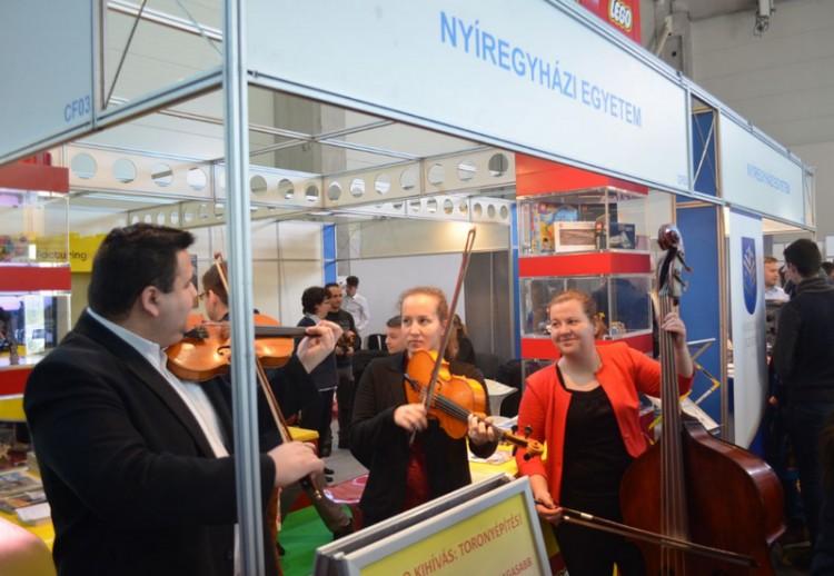 A Nyíregyházi Egyetem is ott lesz Budapesten