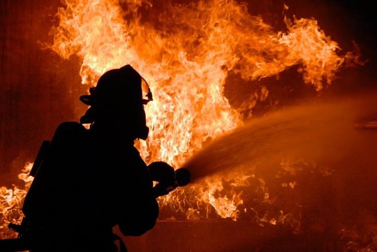Tűz ütött ki Kékcsén