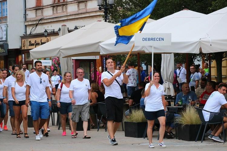A debreceniek is ott voltak 22 város 400 sportolója között Nyíregyházán