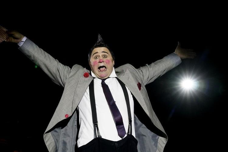 Gyerünk a cirkuszba be!