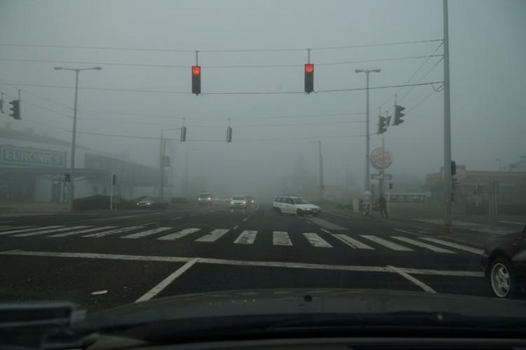 Durva köd ereszkedett Nyíregyházára