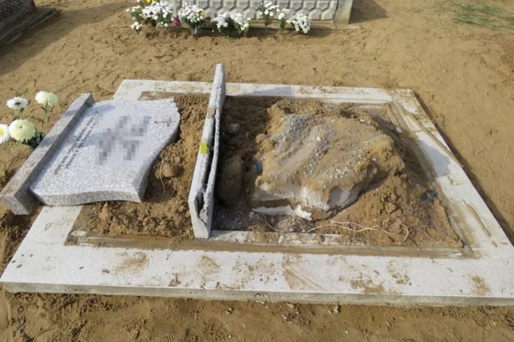 Temetőből lopott síremlékeket a nyírderzsi férfi