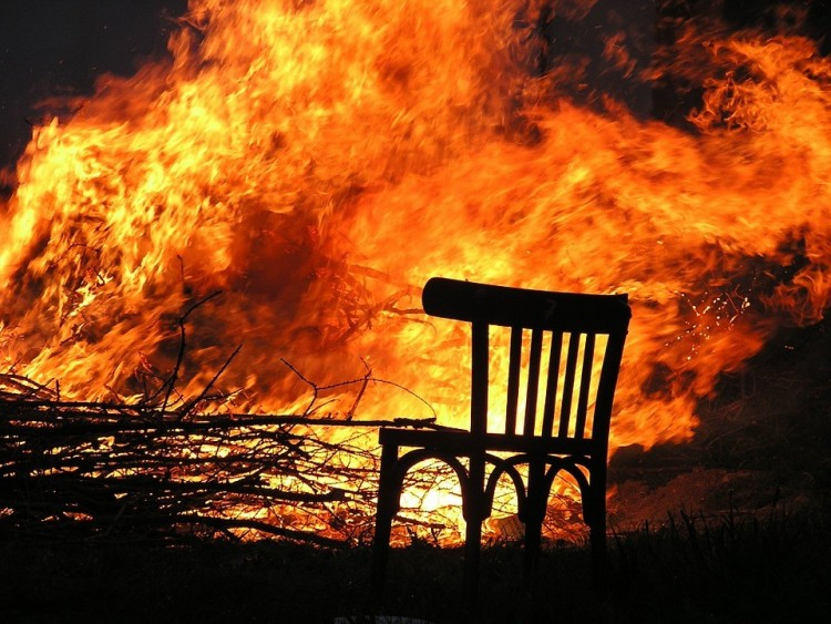 Nyíregyházi pincében csaptak fel a lángok