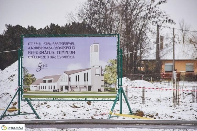 Nyíregyházi cég építi az örökösföldi templomot