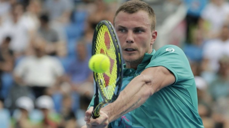 A nyíregyházi teniszező játék nélkül elődöntős