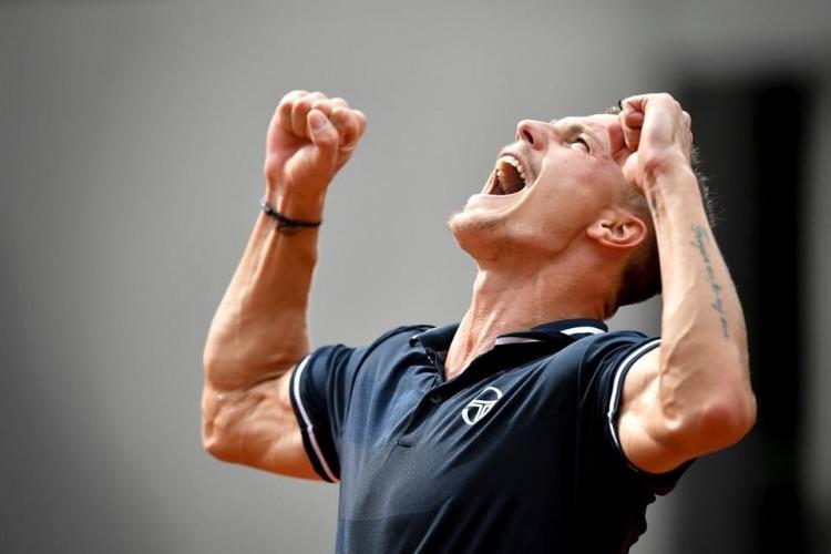 A nyíregyházi teniszező nagy meccsen diadalmaskodott