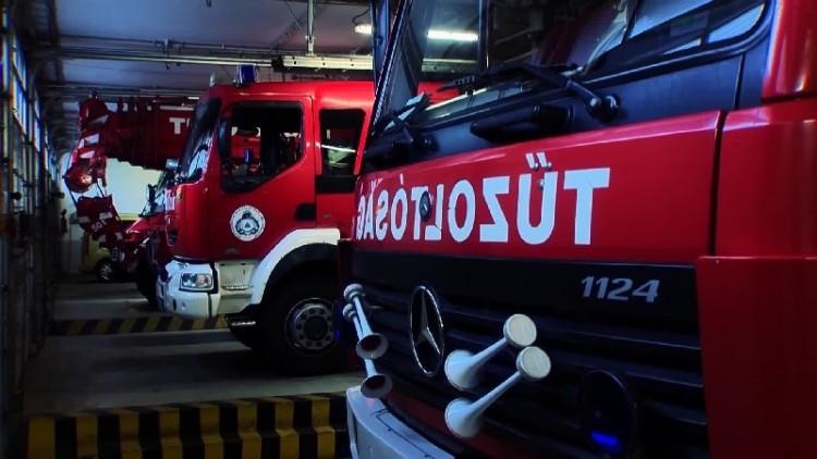 Életet mentettek a tűzoltók Nyírmihálydiban