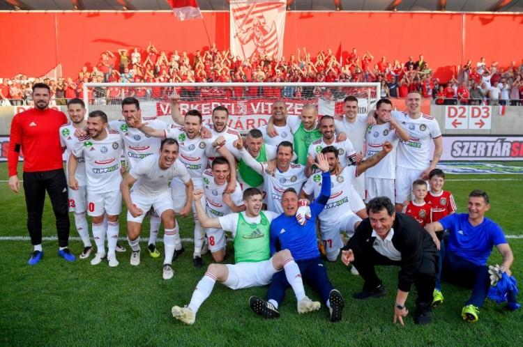 Boldogság Kisvárdán: NB I-es maradt a futballcsapat