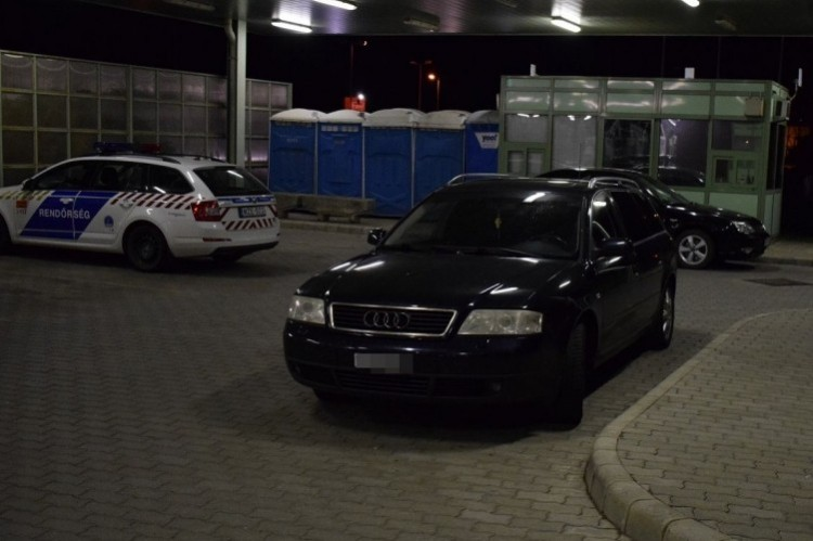 Csengersimán buktak le az Audival