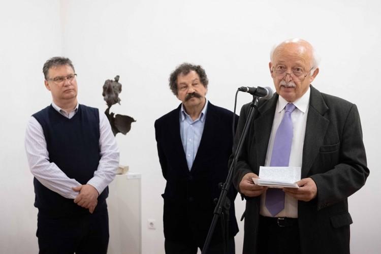 Kossuth-díjas szobrász kiállítása látható Nyíregyházán