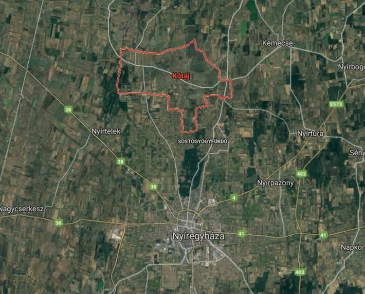60 nap alatt új utat építenek Nyíregyháza és Kótaj között