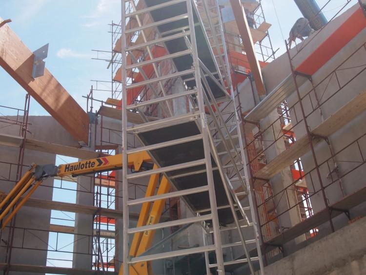 Rohamtempóban épül Nyíregyháza új temploma