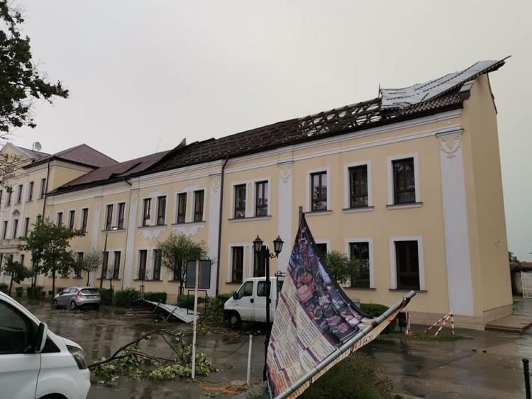 Közel 400 milliós kárt okozott a vihar a szabolcsi iskolákban