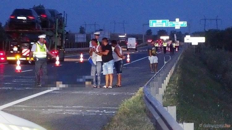 Gyermek tragédiája az autópályán