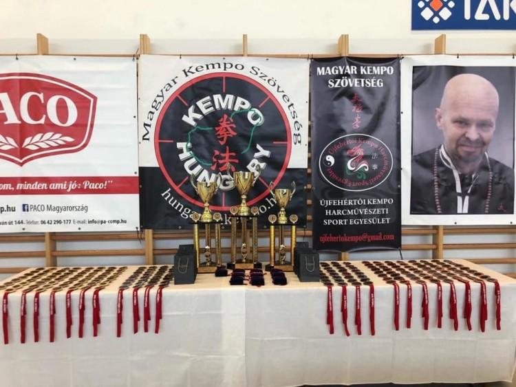 Országos kempo bajnokság Újfehértón