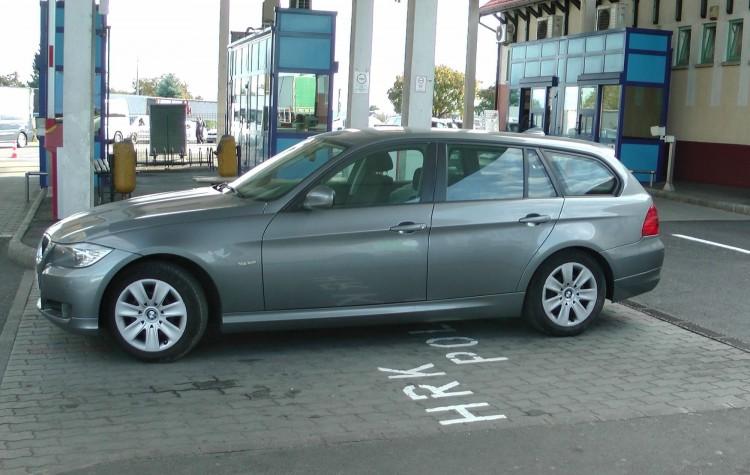 Ez a BMW nem ment át a záhonyi ellenőrzésen