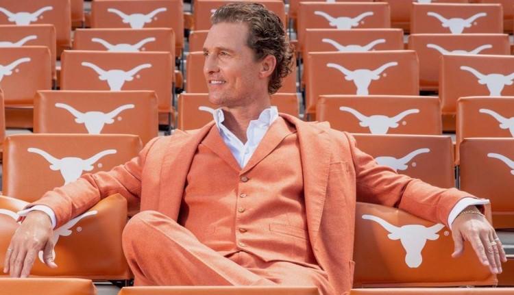 A sármos színész, Matthew McConaughey születésnapot ünnepel
