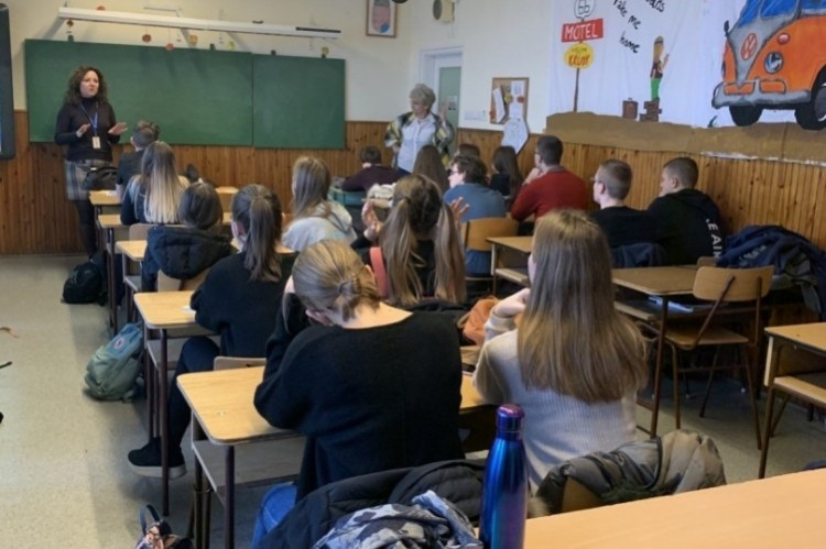 Az online biztonságról tanultak a nyíregyházi diákok