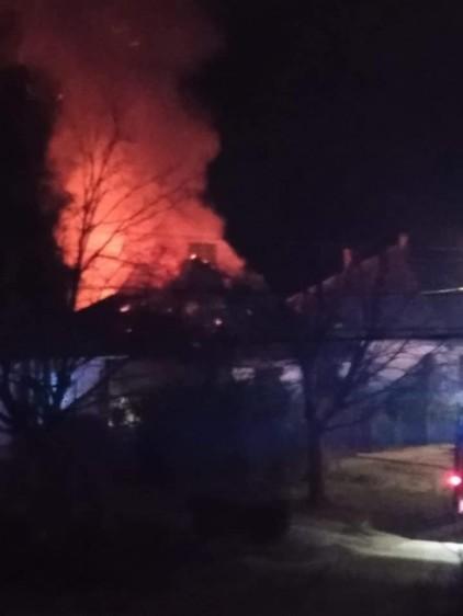 Tűz miatt lakhatatlanná vált egy nyíregyházi ház