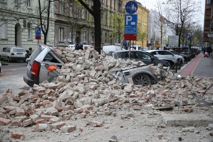 Földrengés volt Zágrábban, többen megsérültek