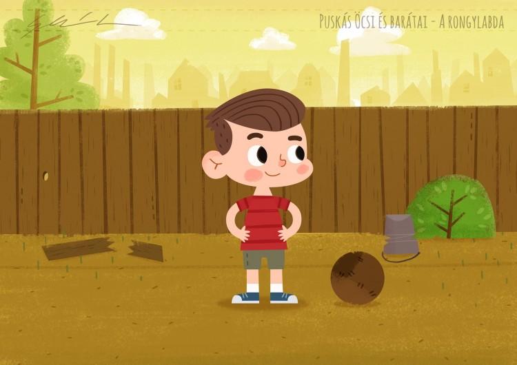 Puskásról szóló rajzfilm április elsején a televízióban