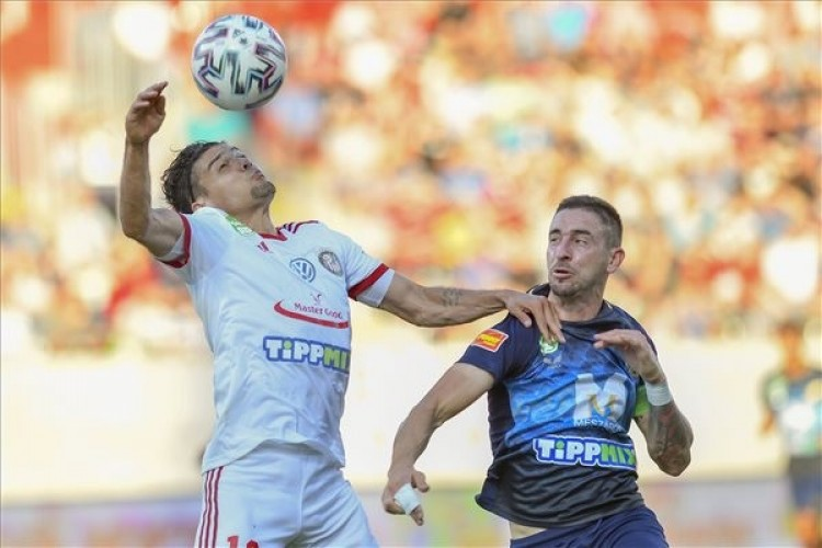 Két gól esett a Kisvárda-Puskás Akadémia meccsen