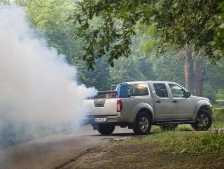 Nyíregyházán is indul a szúnyogirtó autó