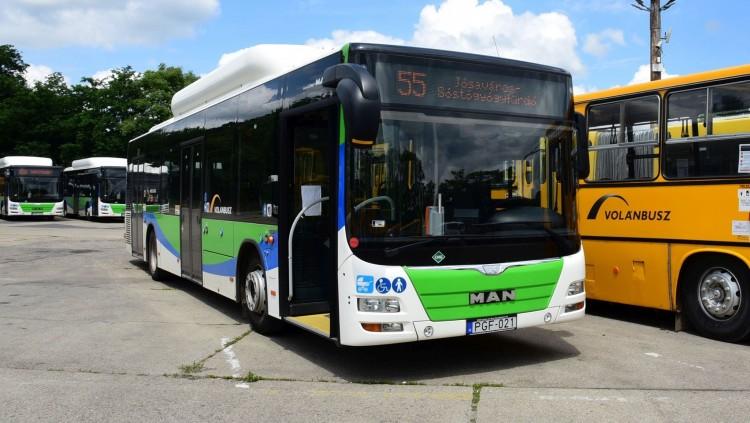 Szálljon az 55-ös buszra Nyíregyházán, ha a Sóstóra megy!
