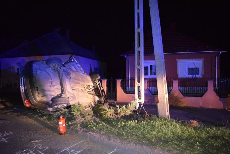 Megrongált egy vezetéket - 46 vásárosnaményi lakásban nem volt áram