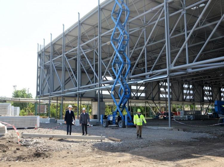 Többe fog kerülni a nyíregyházi sportcentrum