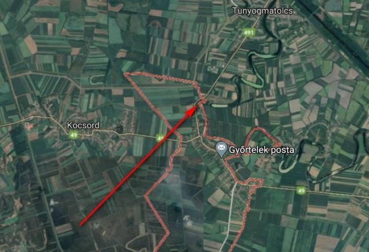 Személyautó csapódott árokba Győrtelek térségében